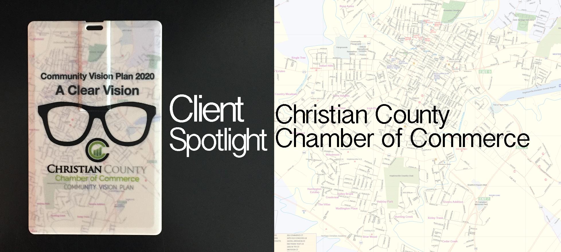 Custom USB for Christian County Chamber of Commerce
