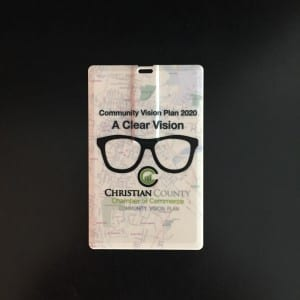 Williams Advertising Christian County Chamber USB