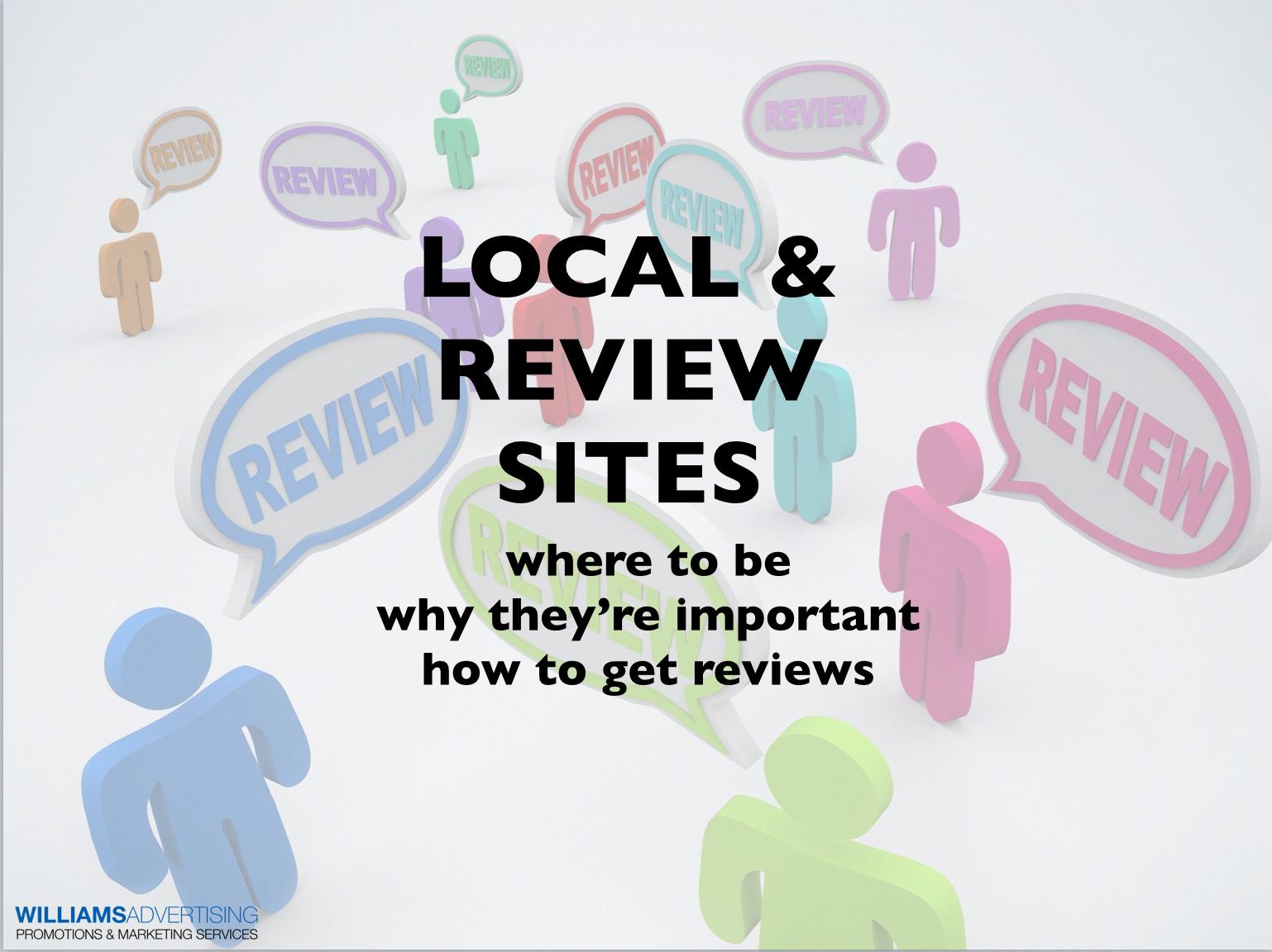 LocalandReviewSitesWilliamsAdvertising
