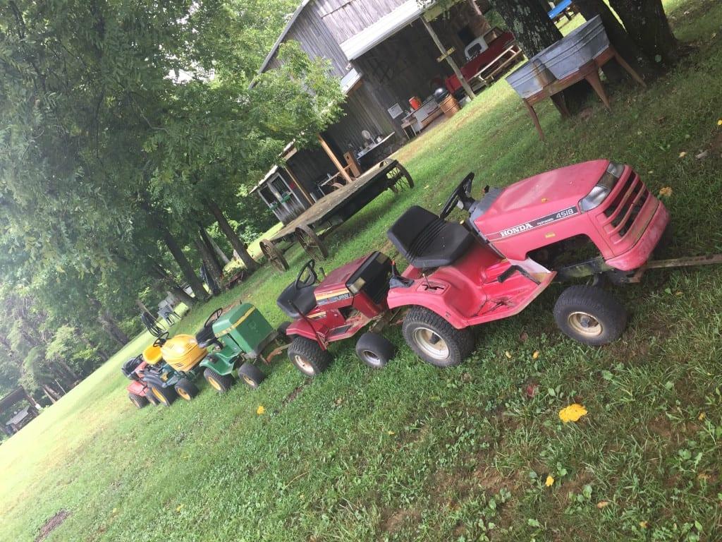 Christian Way Farm Mower Train