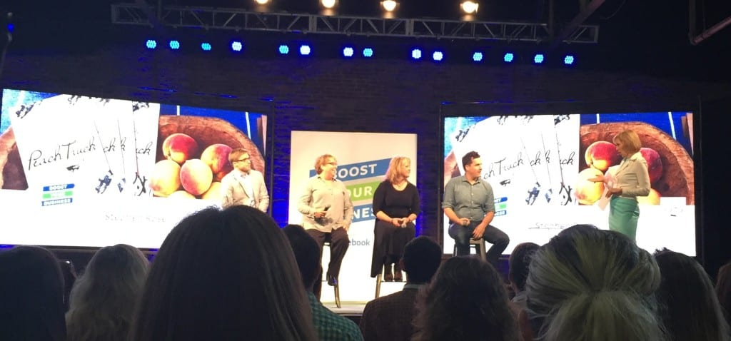 Facebook Boost Your Business Panel
