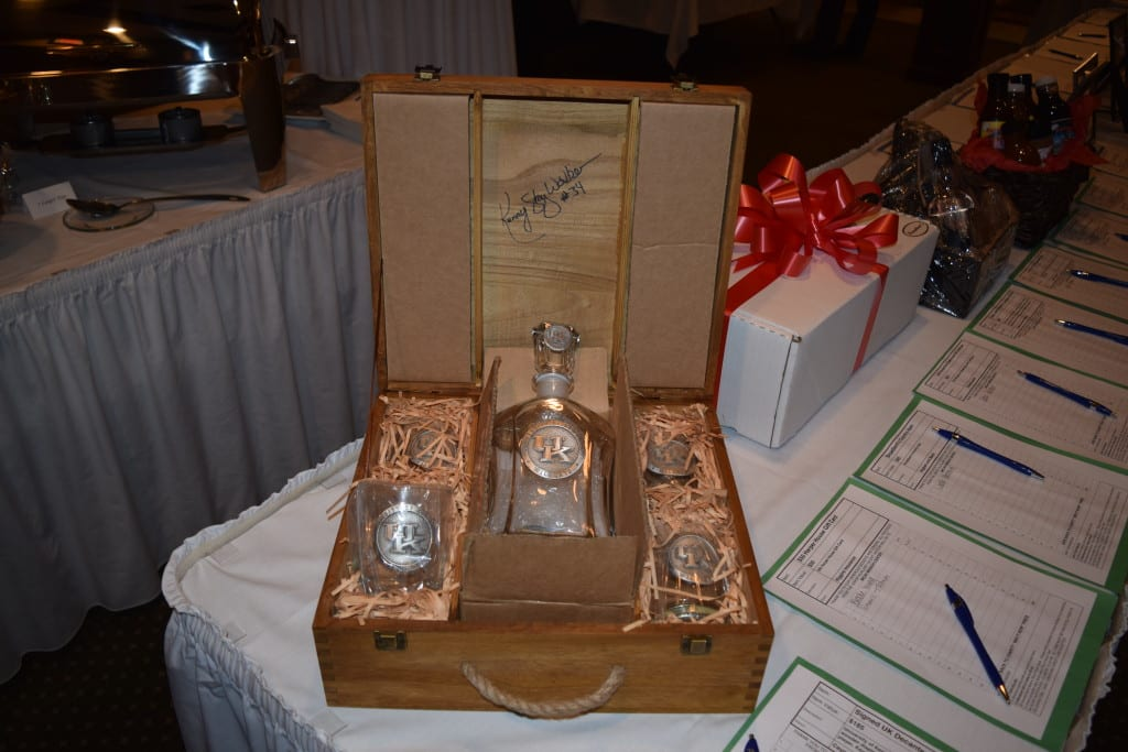 Kentucky Signed Bourbon Decanter Set