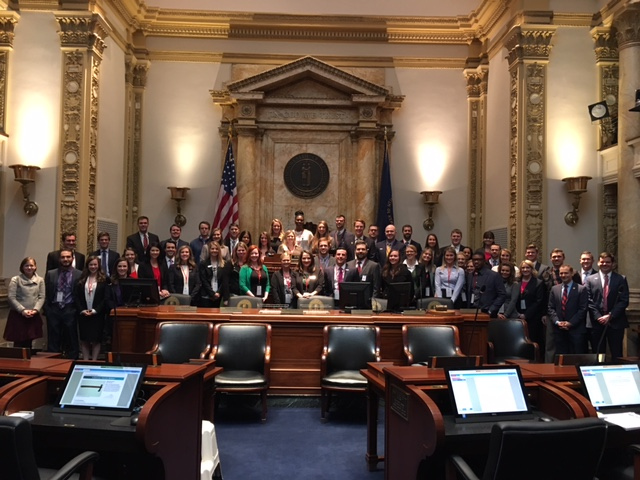 YP Day at the Capitol