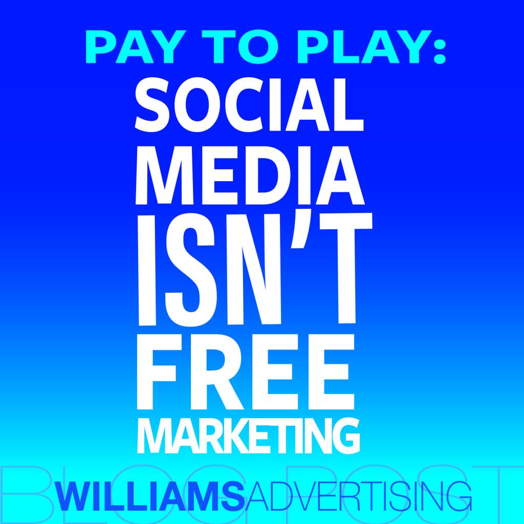 Social Media Isn't Free Marketing