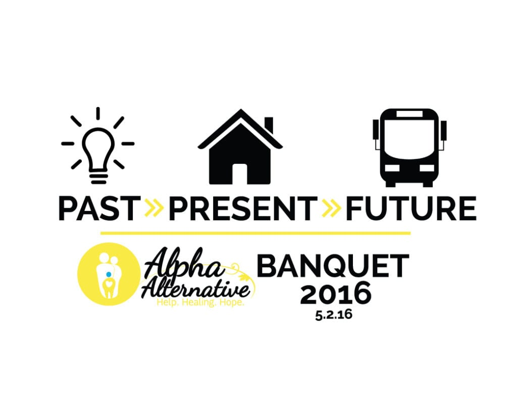 Alpha Alternative Banquet Logo