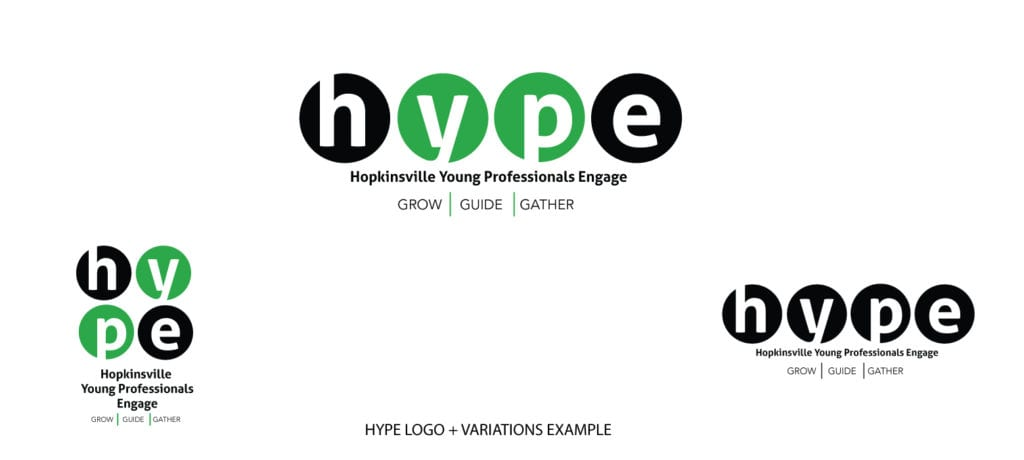 HYPE Hopkinsville Young Professionals Engage Logo