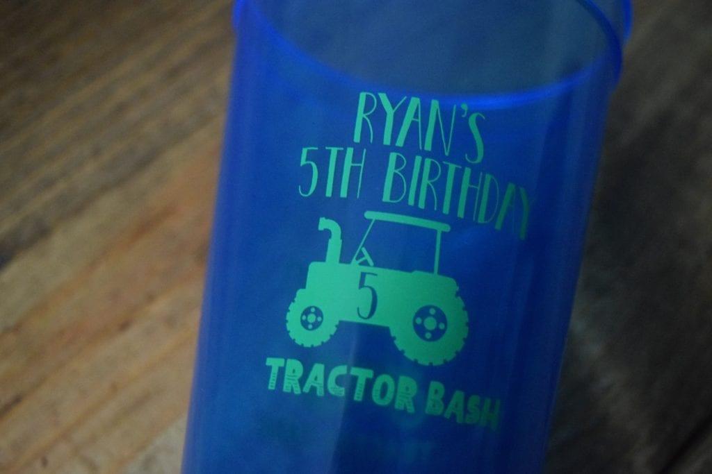 Birthday Party Custom Cups