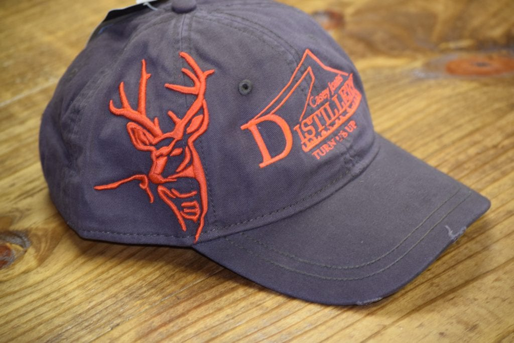 Casey Jones Distillery Embroidered Hats