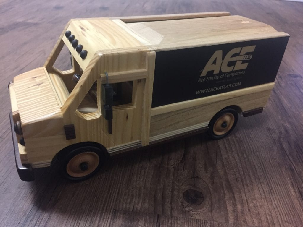 Ace Moving & Storage Delivery Van
