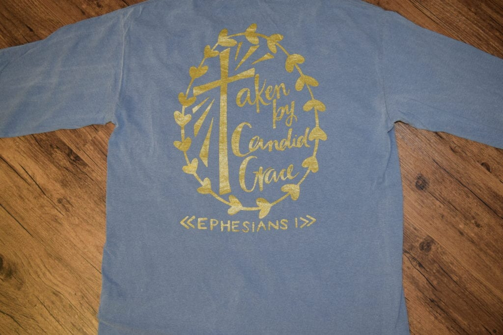 Candid Grace Comfort Colors Tees