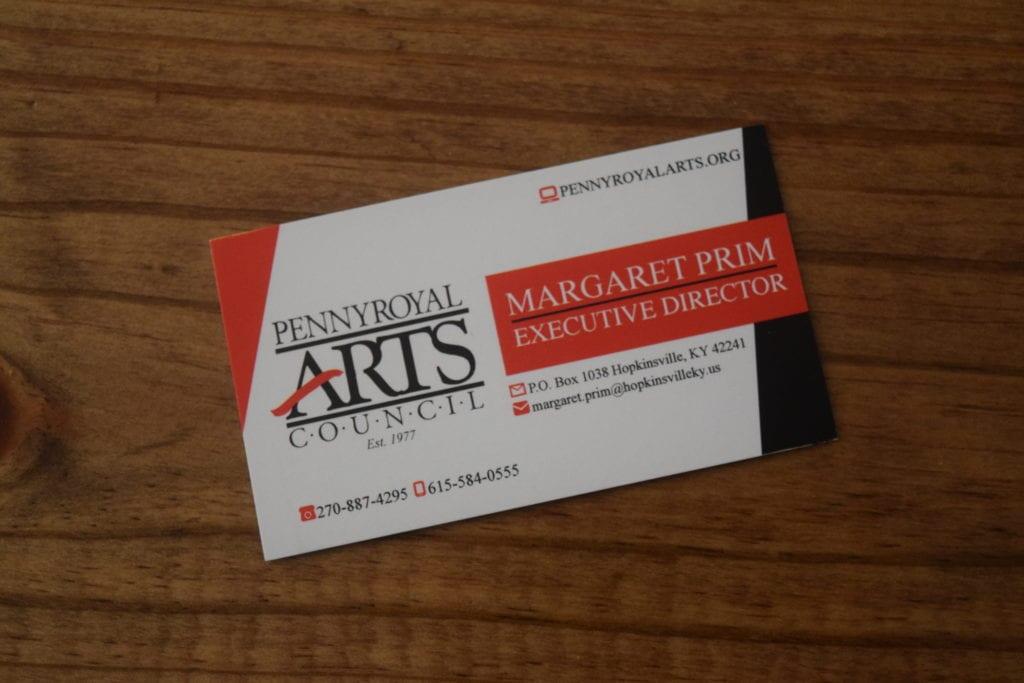 Pennyroyal Arts Council Cards