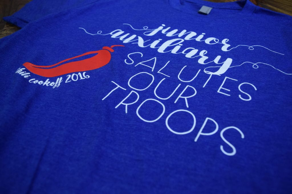 Junior Auxiliary Salutes Our Troops