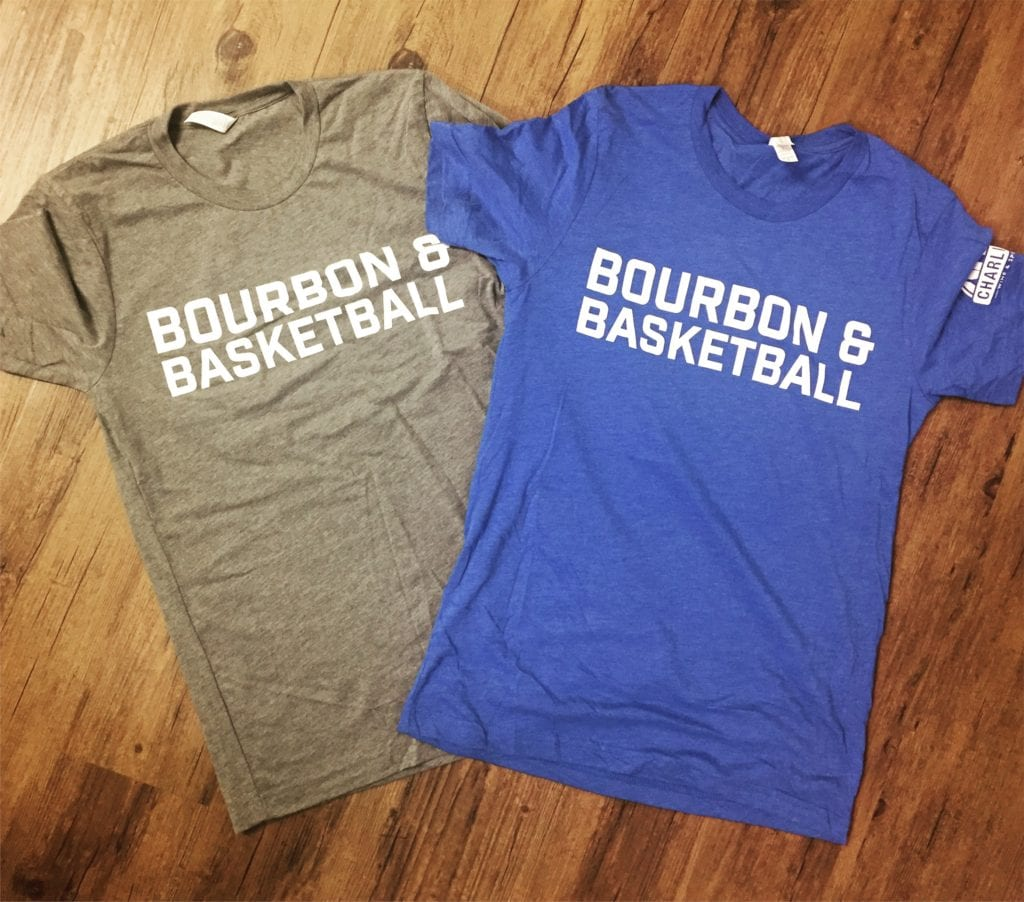 Bourbon & Basketball Tees