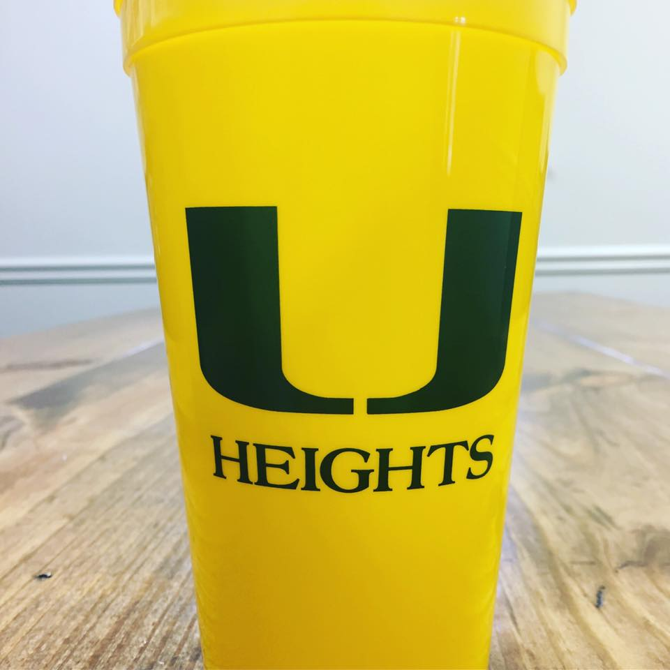 UHA Custom Stadium Cups