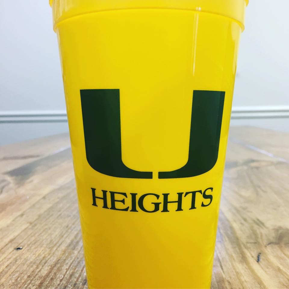 UHA Custom Stadium Cups
