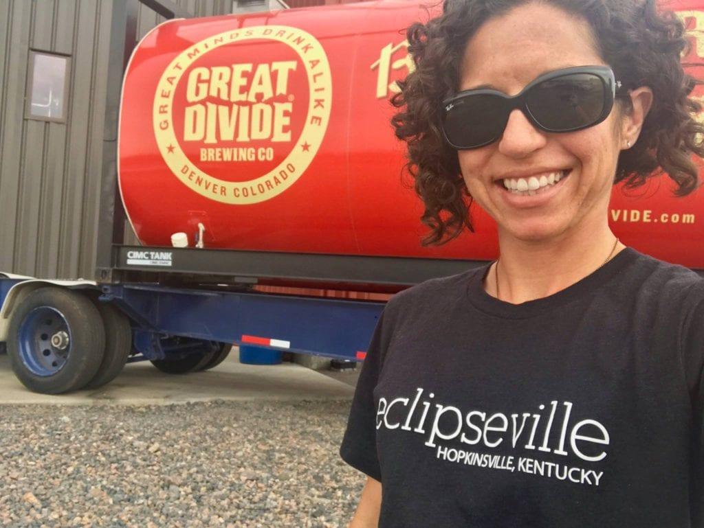Hopkinsville Brewing Company Solar Eclipse T-shirt