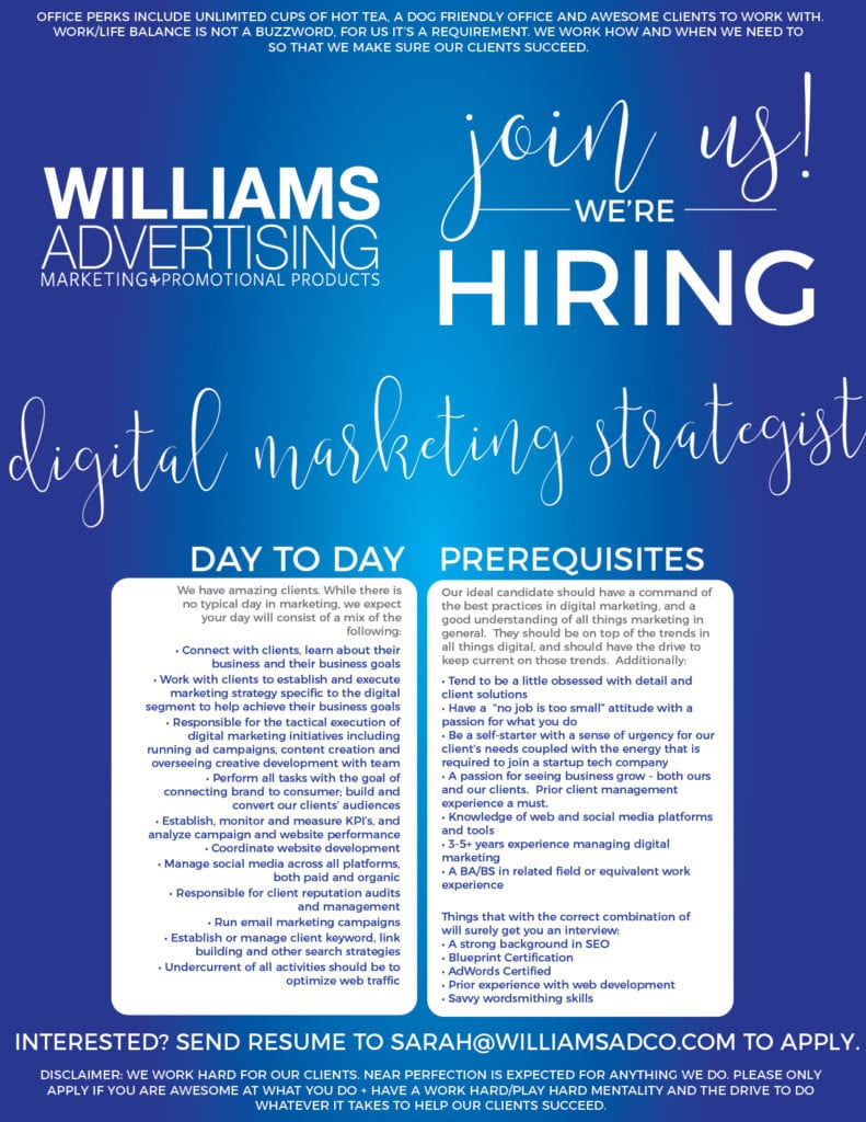 Hopkinsville Digital Marketing Strategist Job