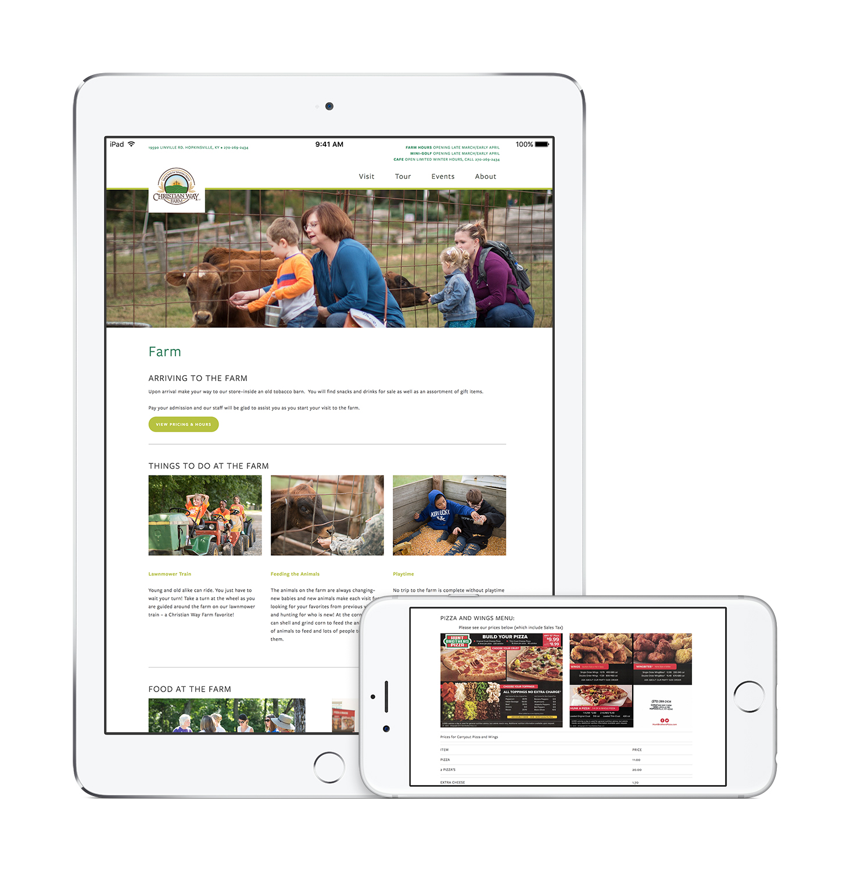 Christian Way Farm Website