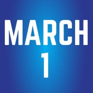 March 1 at Williams Advertising