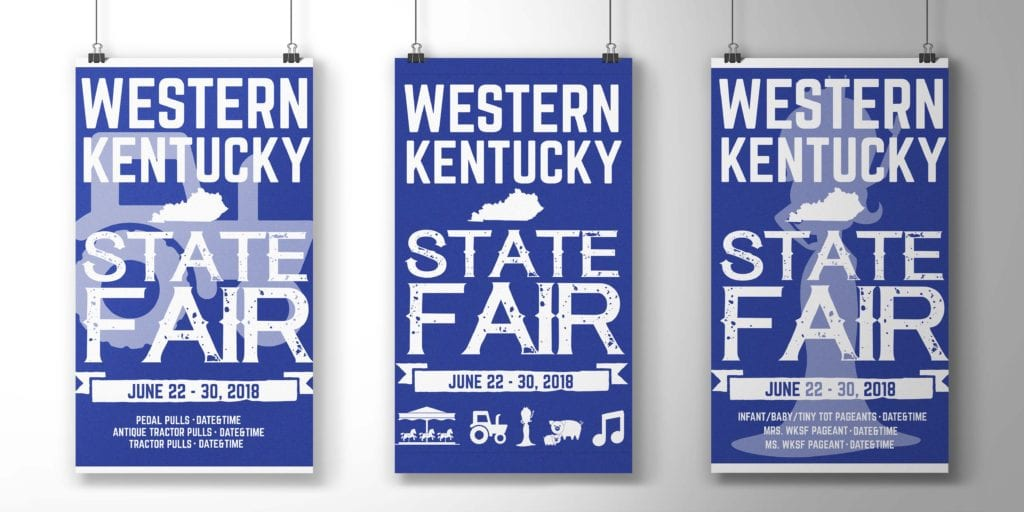 Western Kentucky State Fair Posters