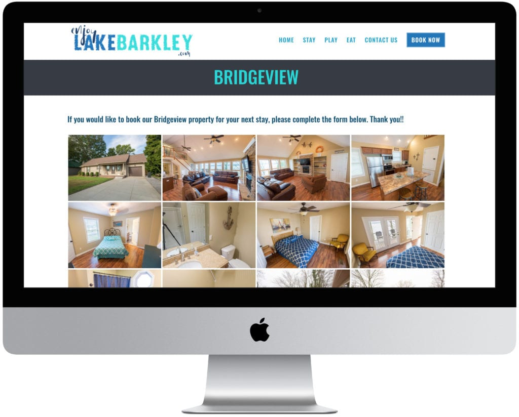 Vacation Rental Website Kentucky