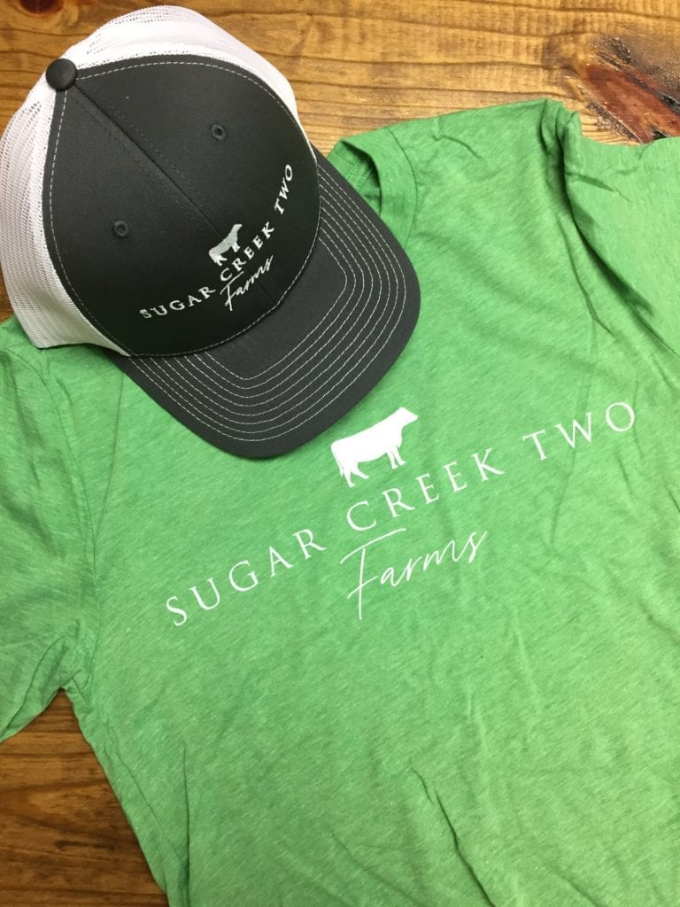 Sugar Creek Two Farms Apparel & Hat