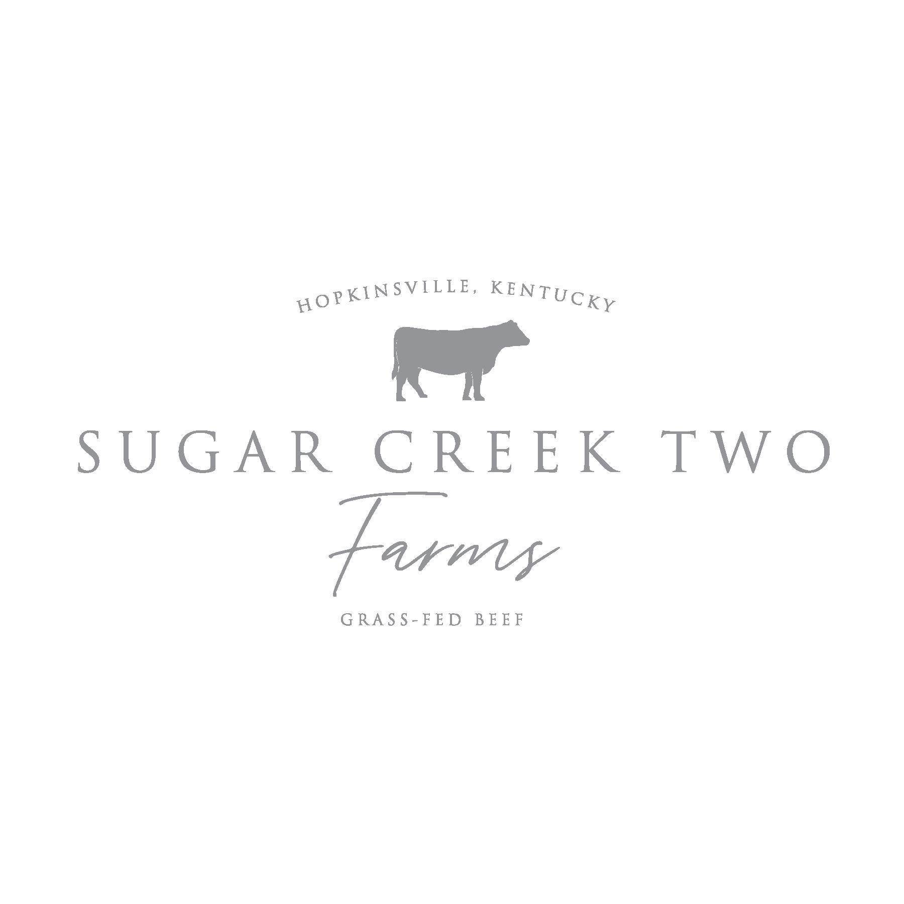 Sugar Creek Two Farms Logo
