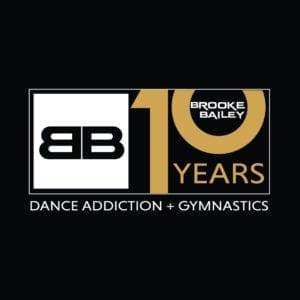 Brooke Bailey Dance Addiction Anniversary Logo Design