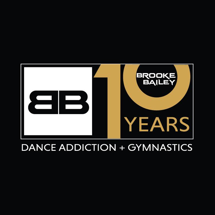 Brooke Bailey Dance Addiction Anniversary Logo Design