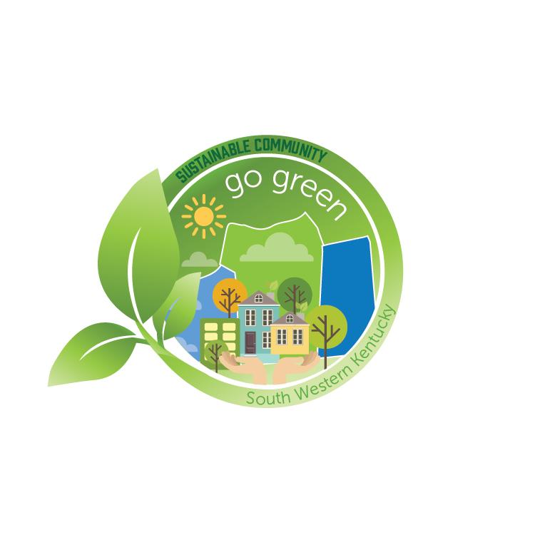 EDC Go Green Logo Design