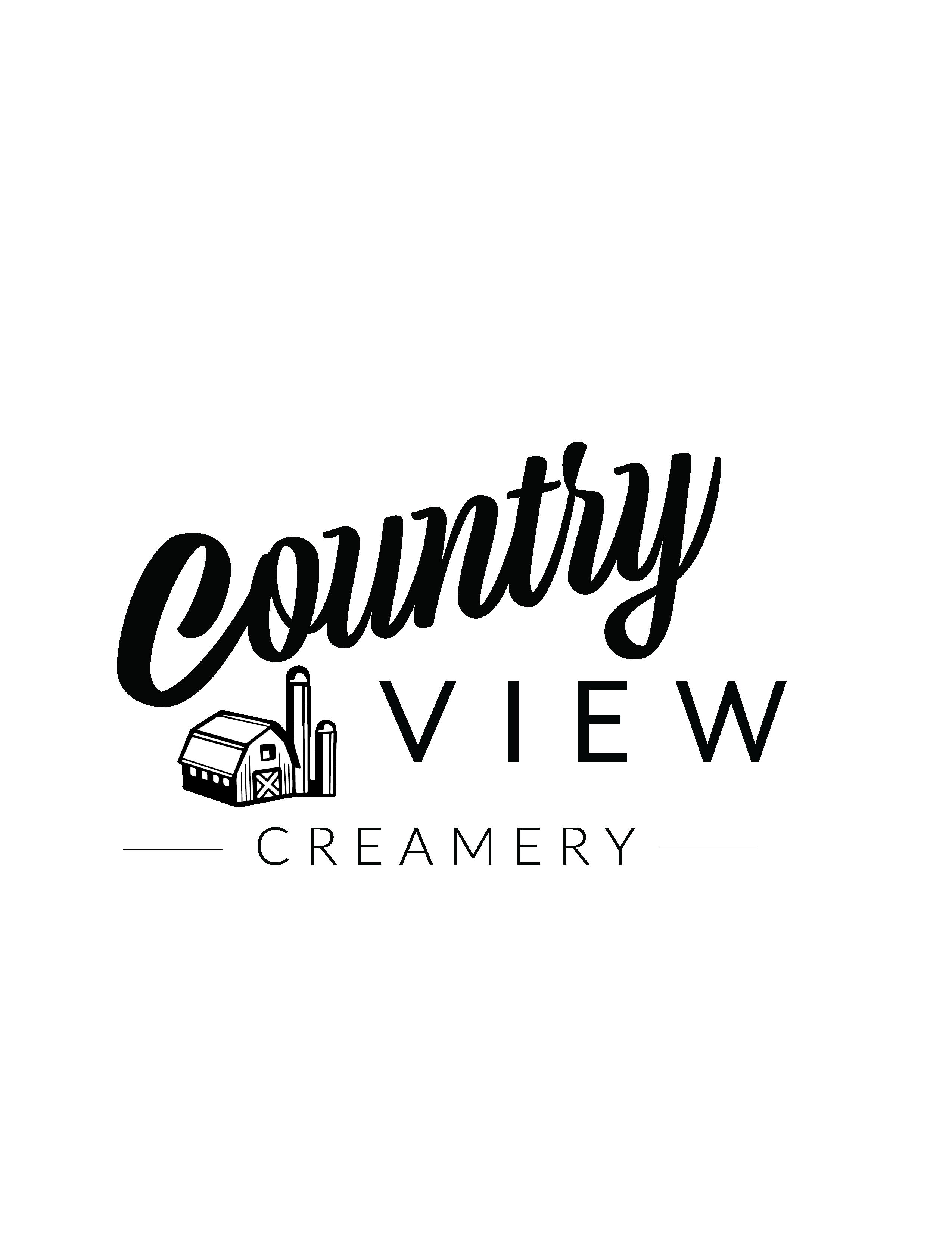 Country View Creamery Logo Design