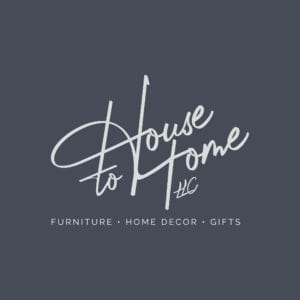 House to Home LLC logo design