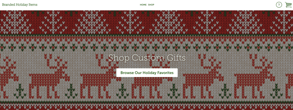 Holiday Store Online Custom Gifts